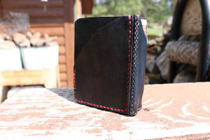 Wallet Clip with spine pocket for pencil or mini Sharpie