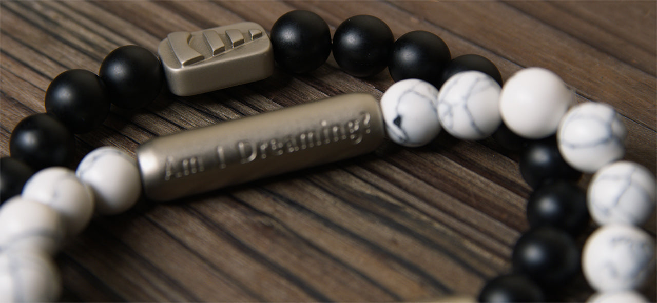 "Lucid Dream""Am I Dreaming?"" Reality Check Bracelet"