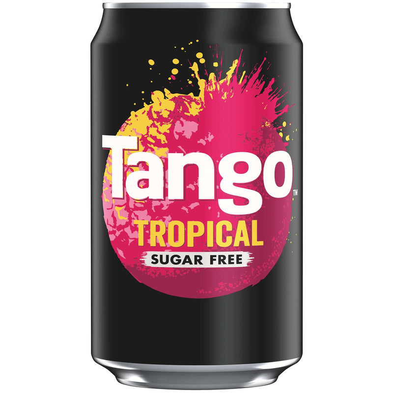 Tango Tropical Sugar Free 330ML