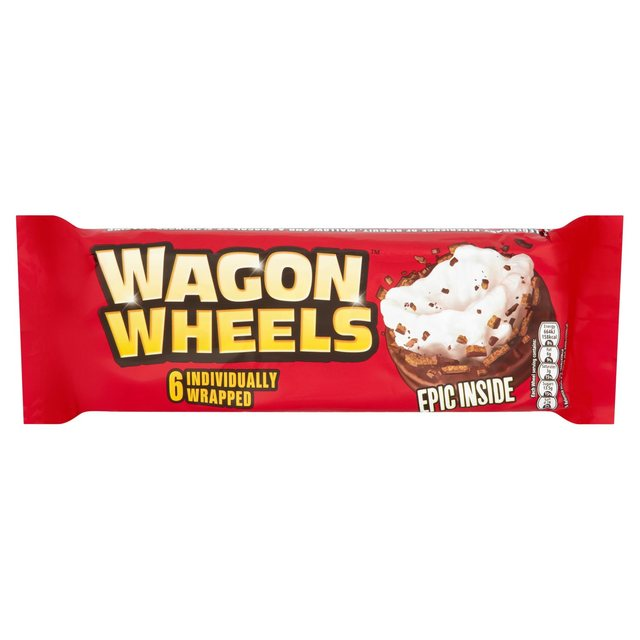 Wagon Wheels Original 6PK