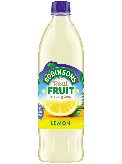 Robinsons Squash Lemon Cordial No Added Sugar 1Ltr