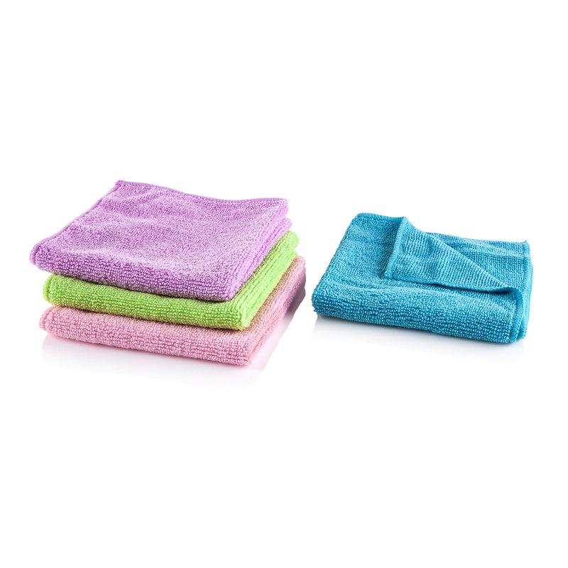 MINKY Microfibre Multi Purpose Cloths 4 Pack