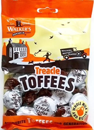 Walker's Nonsuch Treacle Toffee 150G