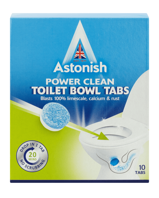 Power Clean Toilet Bowl Tabs (10 Pack)