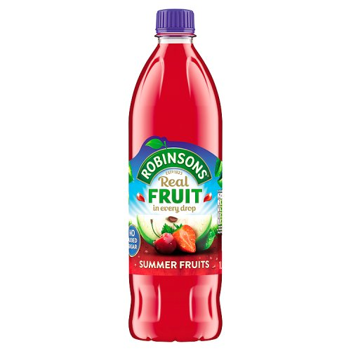 Robinsons Squash Summer Fruits No Added Sugar 1Ltr