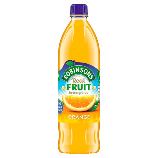 Robinsons Squash Orange Cordial No Added Sugar 1Ltr