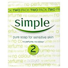 Simple Soap 2 Pack (2 x 125G)