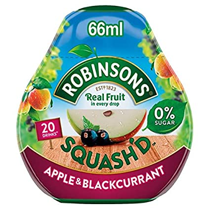 Robinsons Squash'd Apple & Blackcurrant 66ml