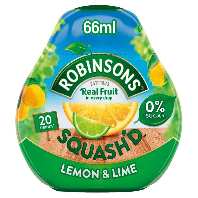 Robinsons Squash'd Lemon & Lime 66ml