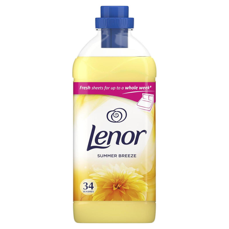 Lenor Summer Breeze Fabric Conditioner 34 Washes