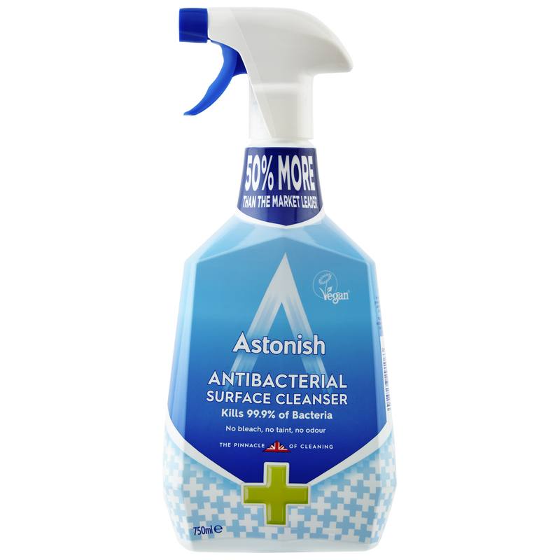 Astonish Antibacterial Surface Cleaner 750ml