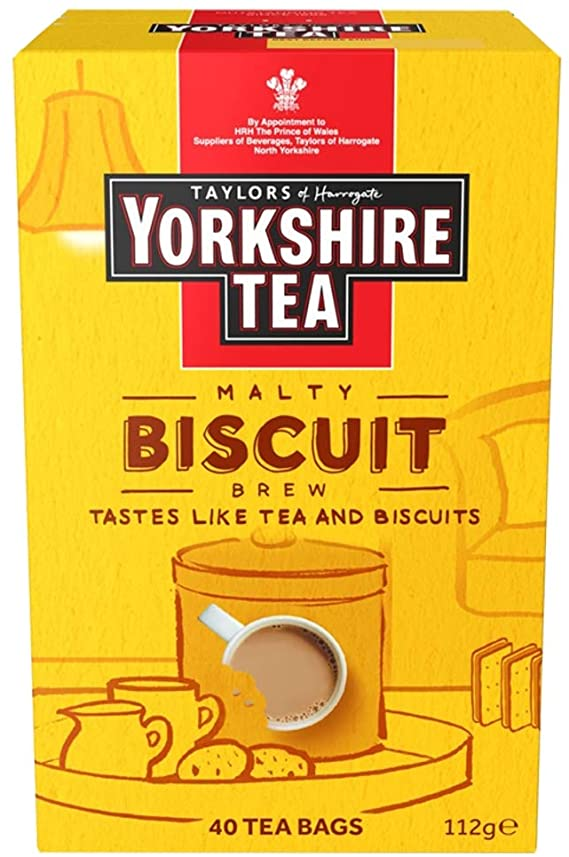 Yorkshire Tea Biscuit Brew 40 Teabags