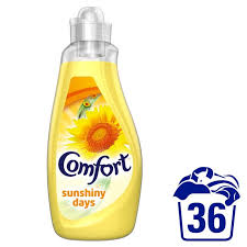 Comfort Fabric Softener Sunshiny Days 36 Washes 1.26L