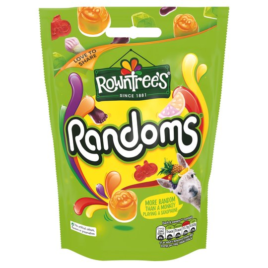Rowntree Randoms 150G