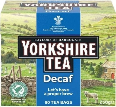 Taylors Yorkshire Tea Decaf