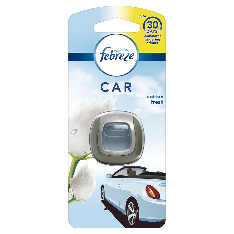 Febreze Car Air Freshner Cotton Fresh 2ML