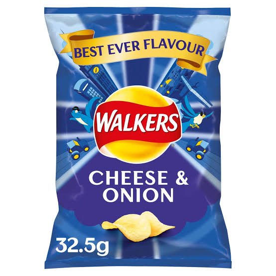 Walkers Cheese and Onion 32.5G