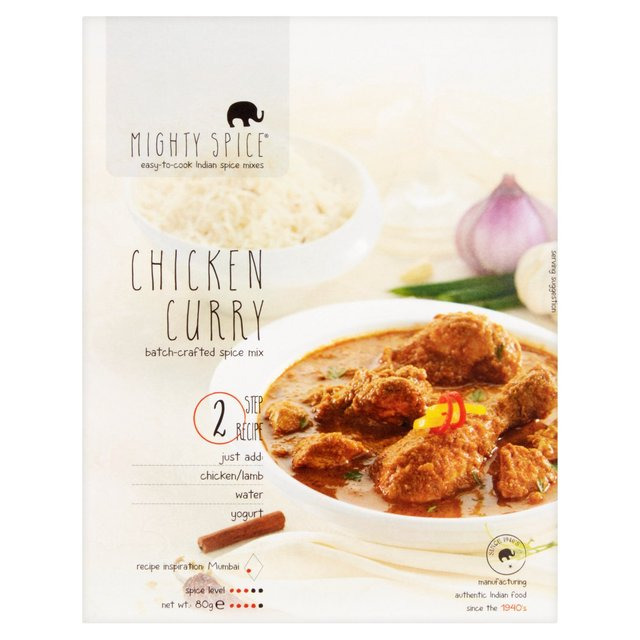 Mighty Spice Chicken Curry 80g
