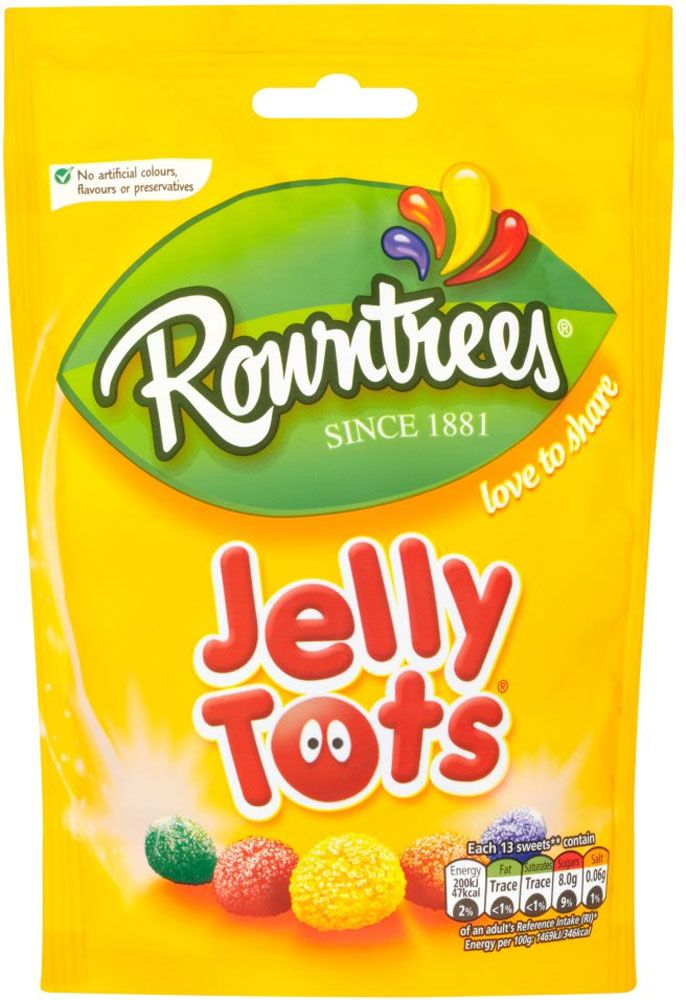 Rowntree's Jelly Tots 100G