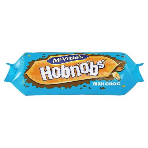 Mcvities Hobnobs Milk Chocolate 262G (best before 20 February 2021)