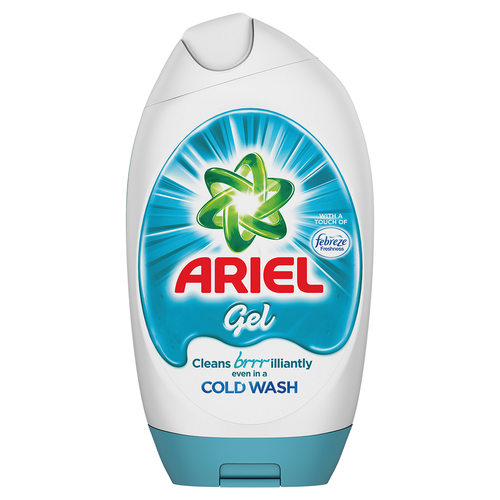 Ariel Laundry Excel Gel with Febreze 24 Wash 888ml