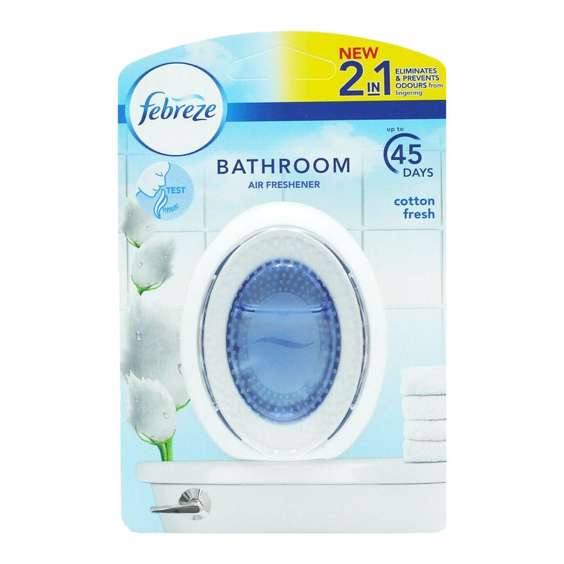 Febreze Bathroom Air Freshener Cotton Fresh