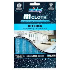 Minky M Cloth Kitchen