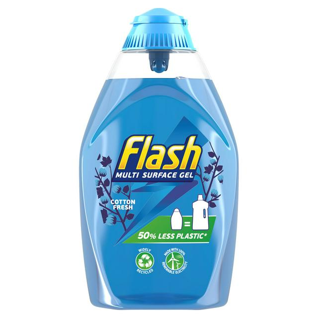Flash Multi Surface Gel Cotton Fresh 600ml