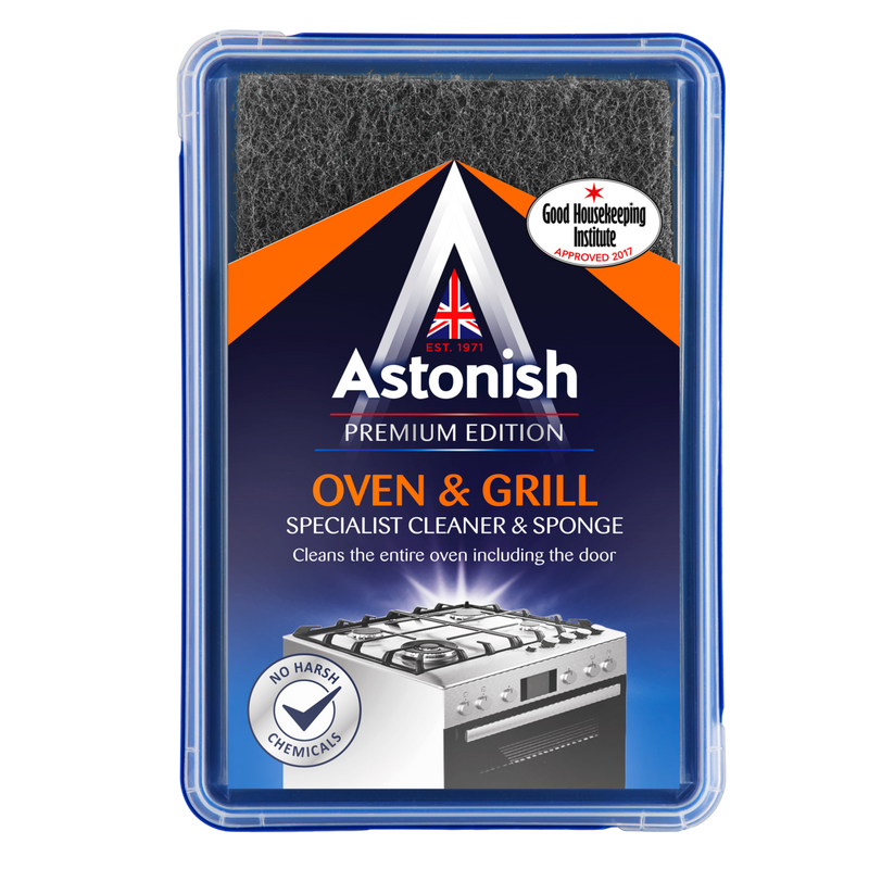 Astonish Premium Edition Oven & Grill Cleaner and Sponge 250G