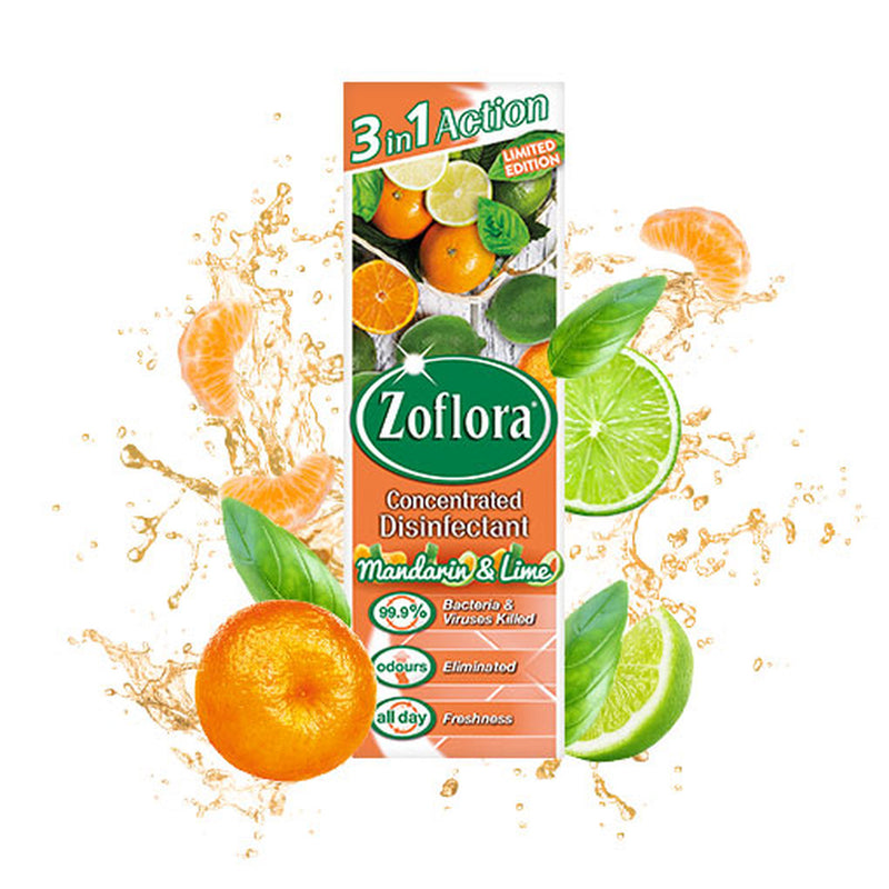 ZOFLORA MANDARIN & LIME CONCENTRATED DISINFECTANT 250ML