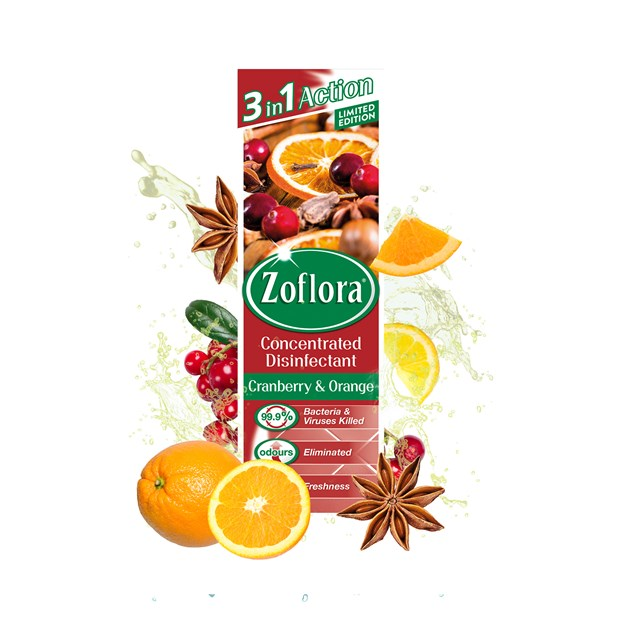 ZOFLORA Cranberry Orange 250ML