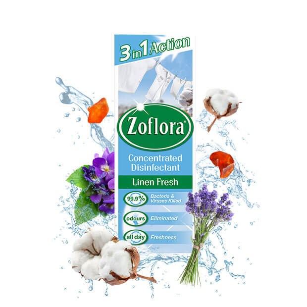 Zoflora Linen Fresh Concentrated Disinfectant 120ml