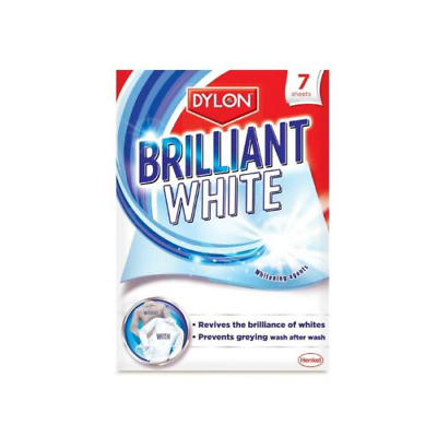 Dylon White n Bright Whitening Sheets 7 Pack