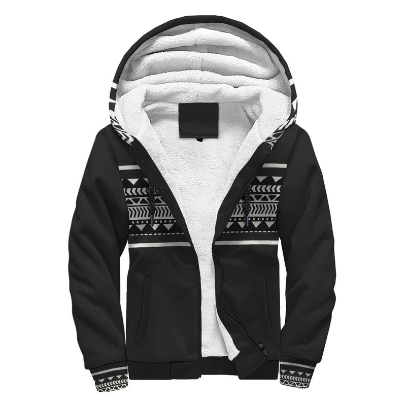 'The Minimalist' Sherpa-Lined Hoodie