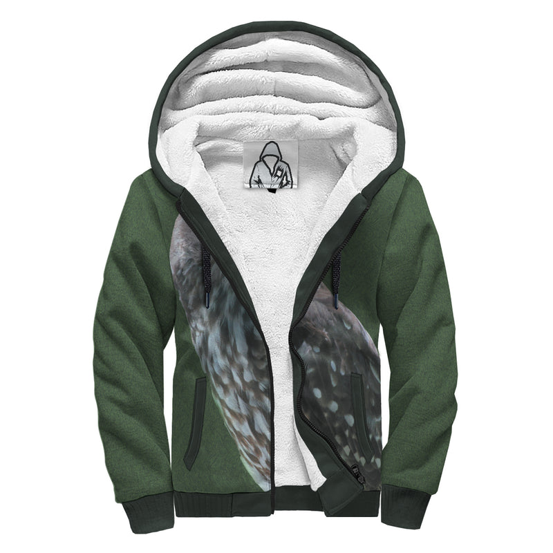 'Bird of Prey' Sherpa-Lined Hoodie