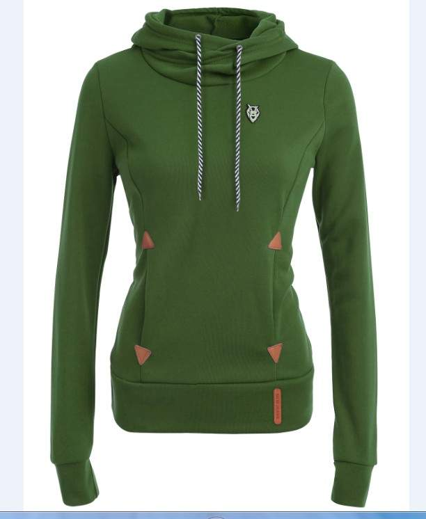 Front Pocket Solid Colour Hoodie - The Hoodie Store
