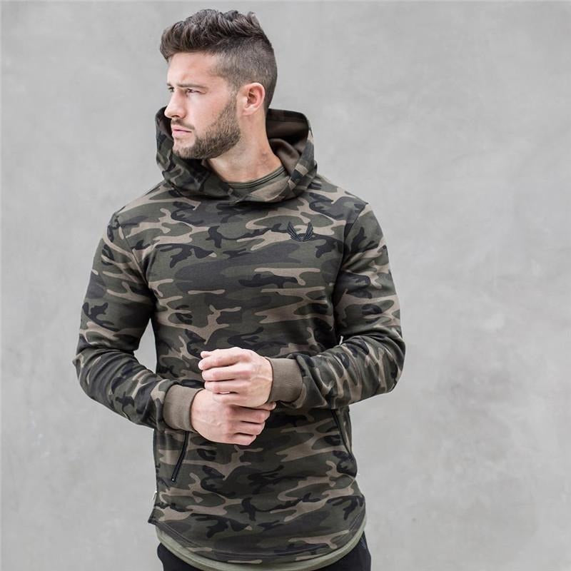 Camouflage Sportswear Pullover Hoodie - The Hoodie Store