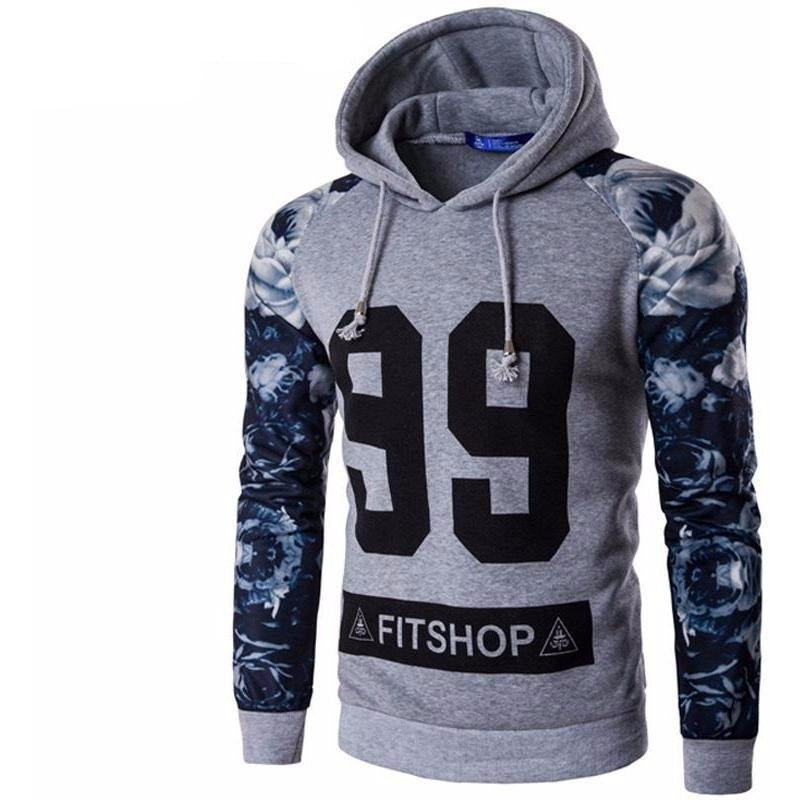 Mens Arm-Variation Hoodie - The Hoodie Store