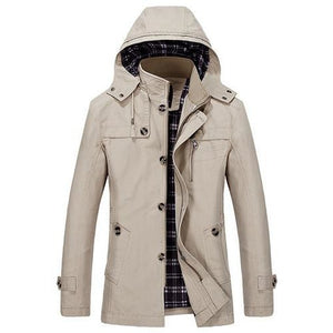 Mens Hipster 'Unisplendor' Cotton Jacket - The Hoodie Store