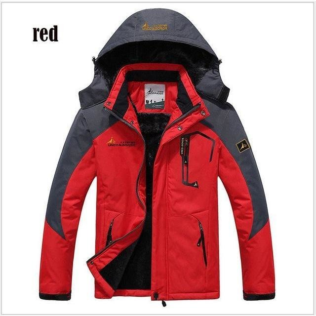 Mens Thick Cotton/Polyester Winter Jacket - The Hoodie Store