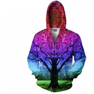 Mixed Colour Zipper - The Hoodie Store