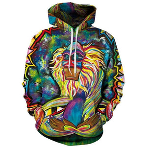 Monkey Pullover - The Hoodie Store