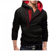 Oblique Style Zipper - The Hoodie Store
