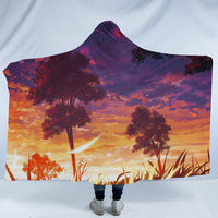Psychedelic Scenery Hooded Blankets