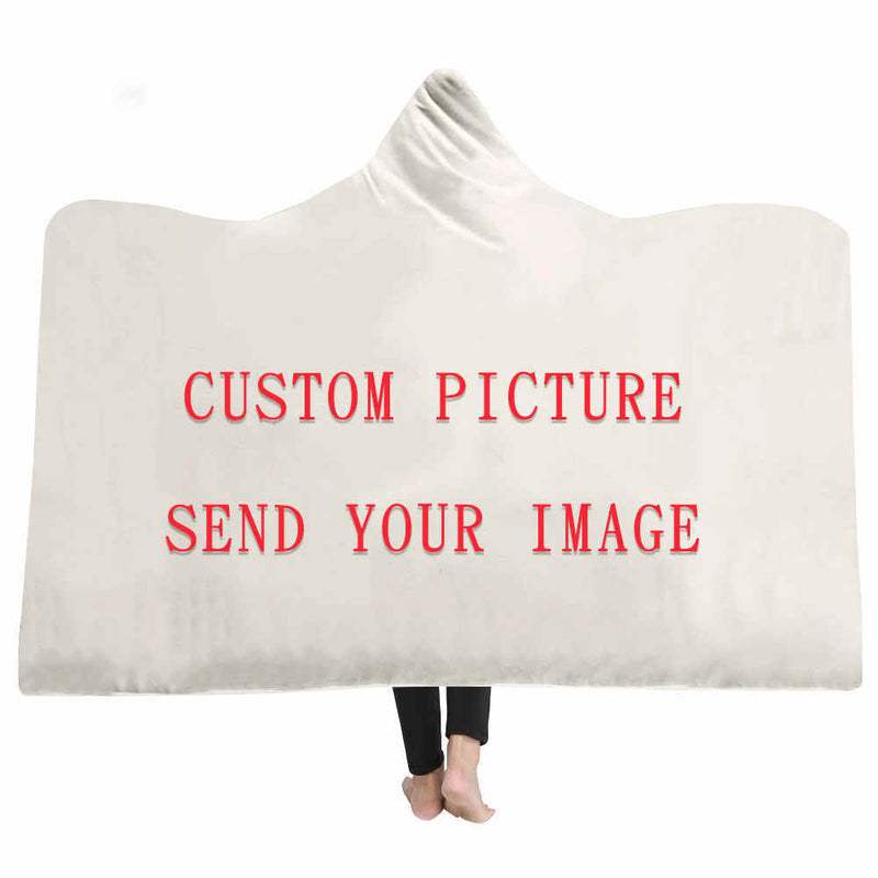 Custom Hooded Blanket- The Hoodie Store