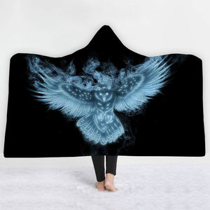 Warm Hooded Snuggle Blankets