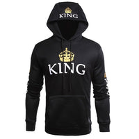 King and Queen Lovers Hoodie