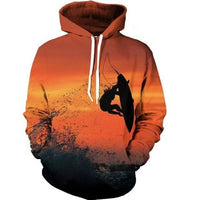 Sunset Surfer Hoodie - The Hoodie Store