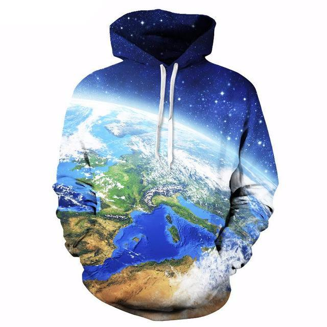 Planet Earth Hoodie - The Hoodie Store