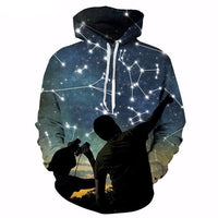 Star Constellations Hoodie - The Hoodie Store